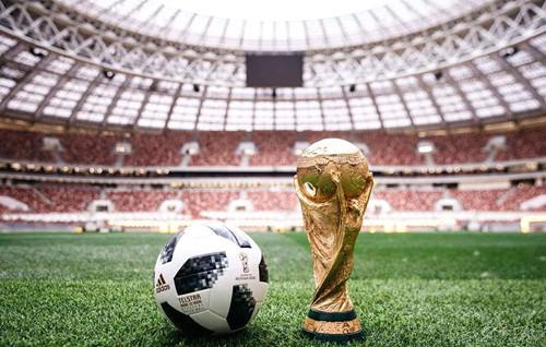2018 Russland VM stadion parade