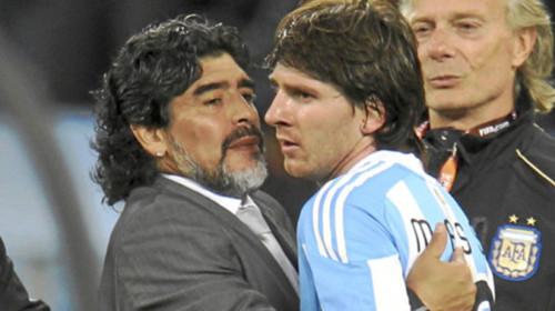 Den Argentina presidenten tenker Messi enn Maradona bedre