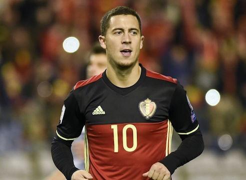Eden Hazard vant 2017 belgisk fotball Mr.