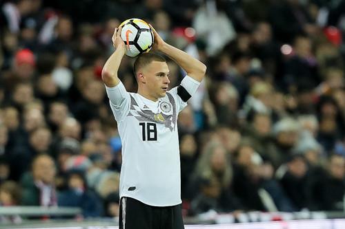 Joshua Kimmich valgte Tyskland som beste spiller av året