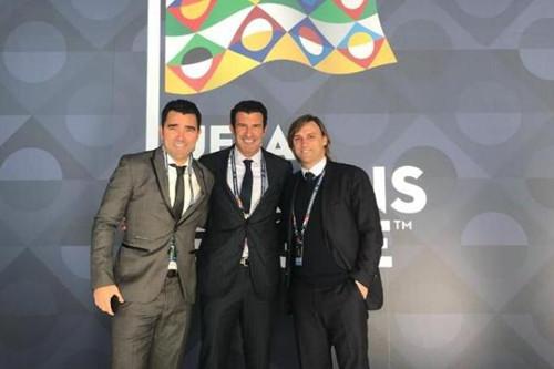 Portugal legende Figo og deco delta på European National League tegning