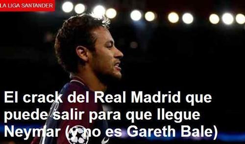 Real Madrid for innføringen av Neymar ny ordning